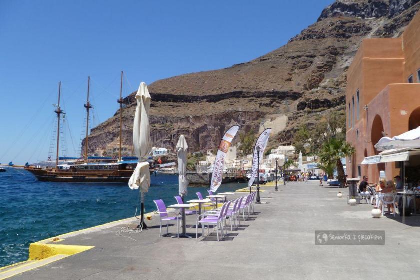 Stary Port na Santorini