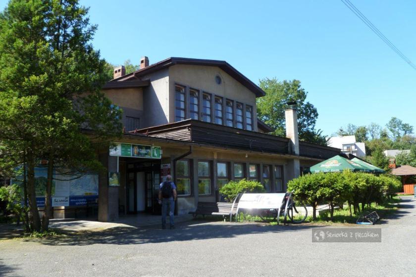 Dolna stacja kolejki na Javorovy w Czechach