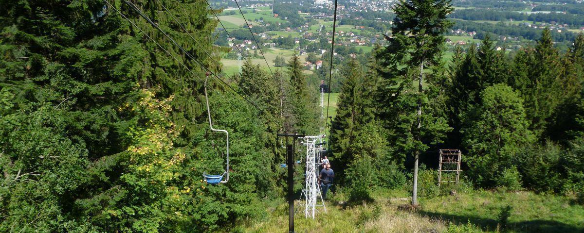 Kolejka na Javorovy w Czechach