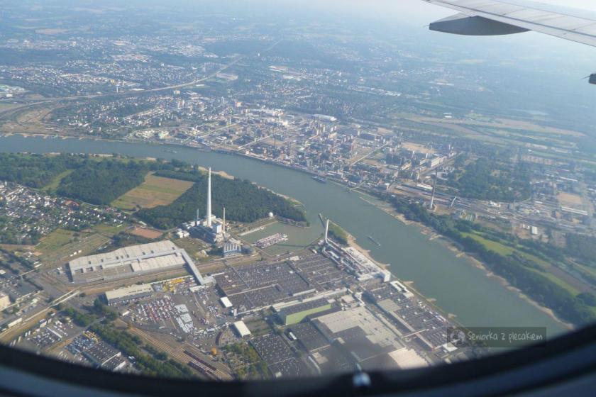Niemcy - lot nad Kolonią