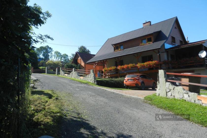 Zejście z Javorovego do miejscowości Oldrichowice