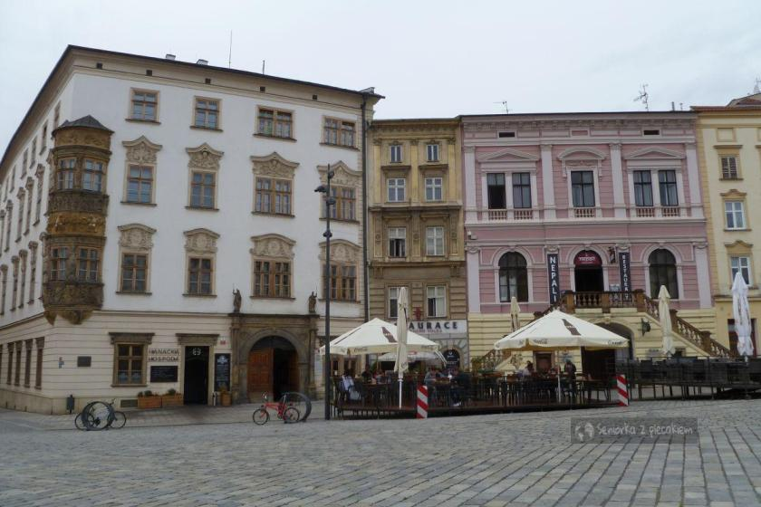 Pałac Haunschildów na Dolnym Rynku w Ołomuńcu