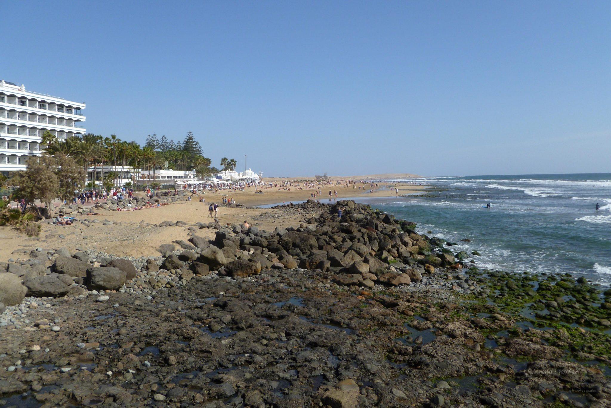 Maspalomas - plaża