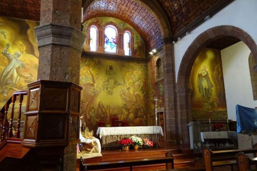 Kościół św. Macieja w miejscowości Artenara