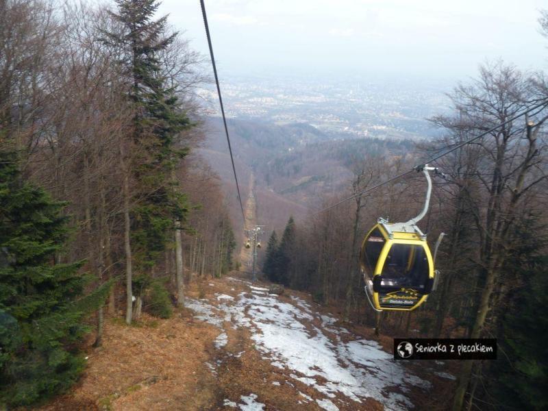 Szyndzielnia – kolejką i szlakiem. Beskid Śląski