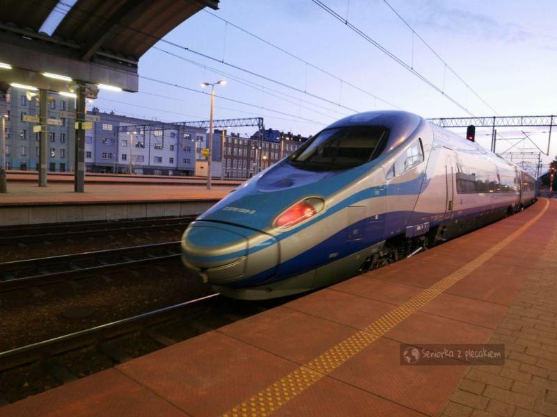 Pociągiem z Katowic do Gdańska. Na weekend