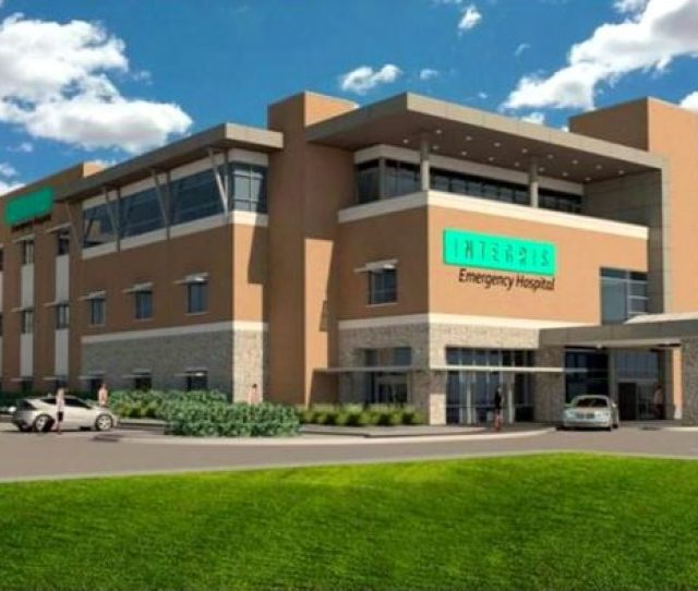 Integris Broke Ground On The Health Care Systems First Micro Hospital The Ceremony Was Take November St At  A M At  S I  Service Road In Moore