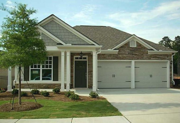 Powder springs active adult community of bel aire senior for One level houses for sale