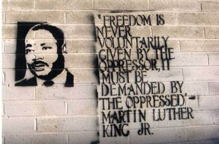 King-on-oppression quote