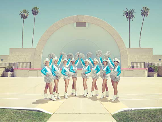The Sun City Poms