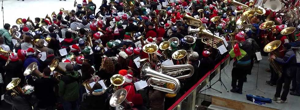 43rd Annual Merry Tuba Christmas Senior Planet