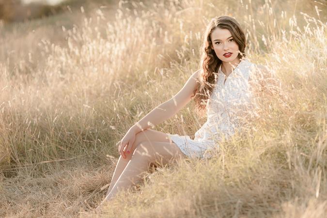 Senior Portraits: Kate's Amazing Session