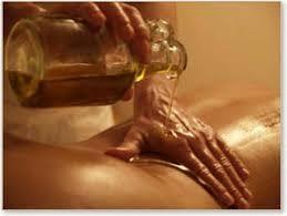 massage huile