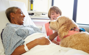 pets can help dementia and Alzheimer's patients