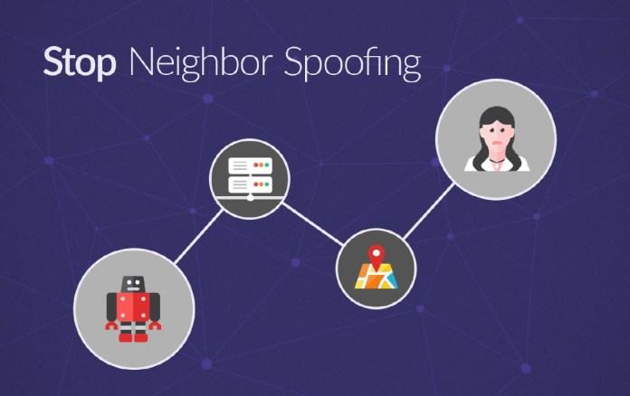 neighbor spoofing