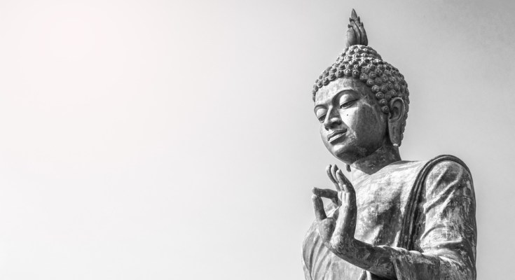Think like Buddha to help regain focus and calm the mind about Covid-19