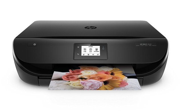 Chromebook Printing using an HP Envy 4520 inkjet printer