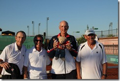 USA Britannia Cup Team, Hoeveler, Parker, Nash, Thomson