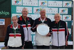 USA Grant Cup team, Sack, Ahlers, Powless Van Nostrand