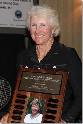 Trish Faulkner, Margaret Russo Award recipient