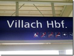 Villach HBF sign