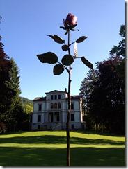 Giant Rose Sculpture