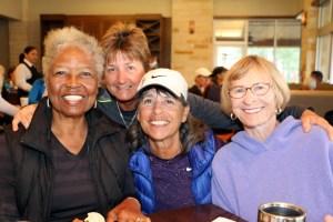 Roz King, Tracey Thompson, Kathy Barnes, Dori deVries