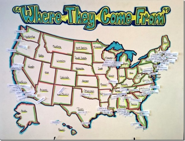 Players in Huntsville...Interesting geographic distribution (where are the local players?)