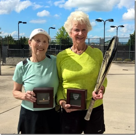 80s Doubles champions, Judith Smith and Burnett Herrick