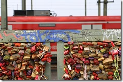 lovelocks and red train