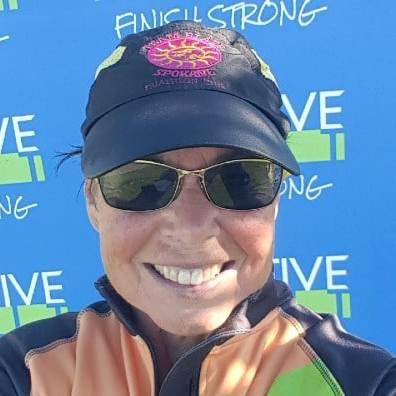 after finishing a virtual half marathon