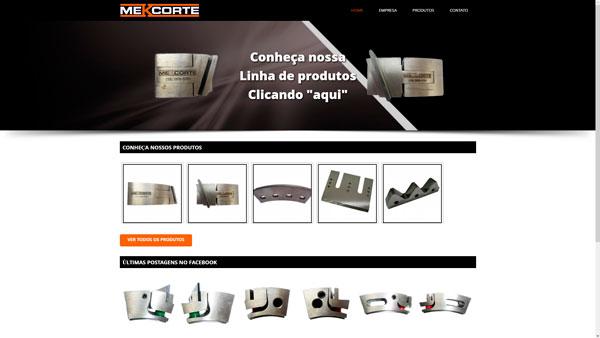 mekcorte.com um site desenvolvido por SENI web design & publicidade