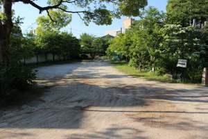 広島・不動院の駐車場