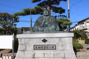 武田信玄の像