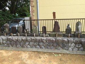犀ヶ崖の鼠小僧の墓