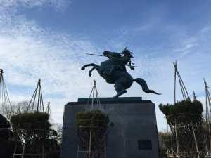 最上義光の銅像