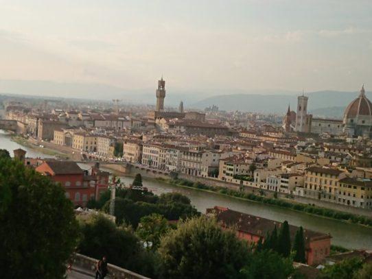 イタリア フィレンツェ 視察旅行紀 1