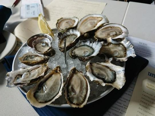 シアトルの牡蠣