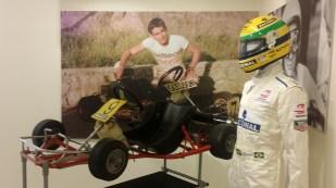 Senna owned GoKart