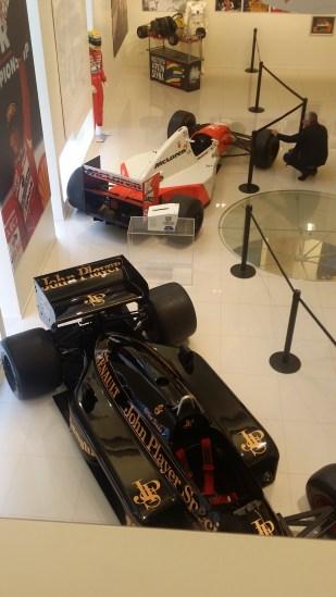 Senna owned McLaren and Lotus