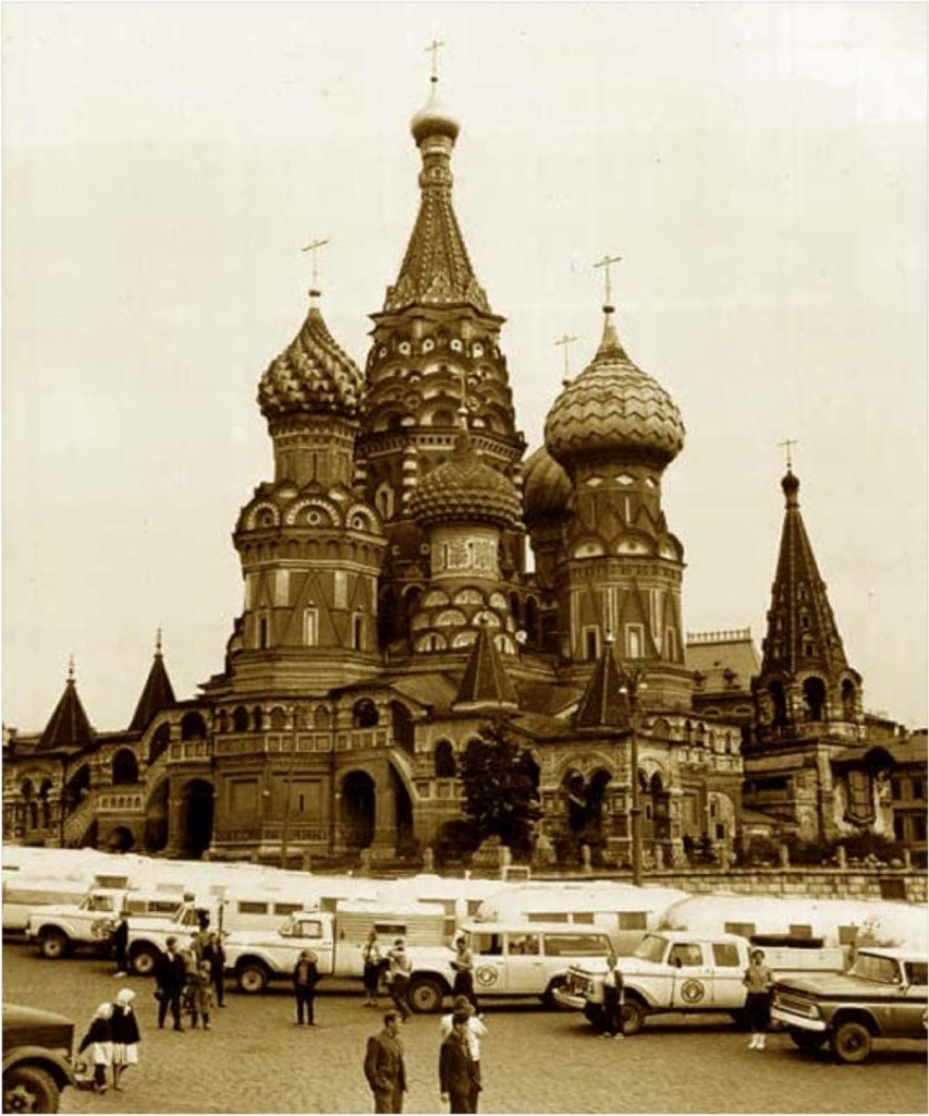 Camping at Red Square