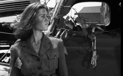 Elizabeth Montgomery after the apocalypse.