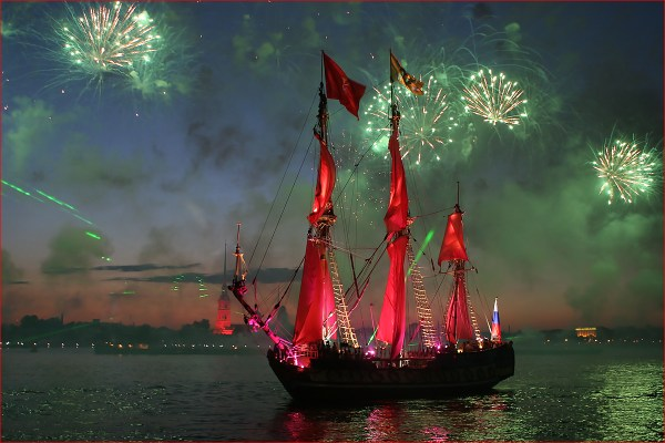 Crimson Sails on the Neva