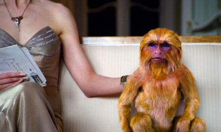 Me and my monkey: Nicole Kidman und ihr Daemon in The Golden Compass