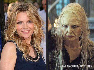 """Klassische Maske: Michelle Pfeiffer in """"Stardust"""" (c) Paramount"""