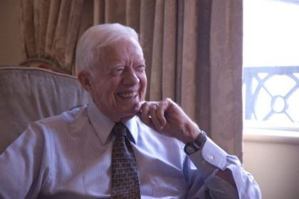 "Jimmy Carter in Jonathan Demmes ""Jimmy Carter, Man from Plains"""