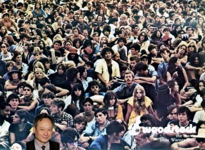 Ang Lee in Woodstock (Fotomontage sennhauser)
