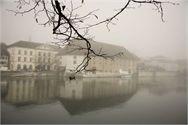 Landhaus Solothurn im heimatlichen Nebel