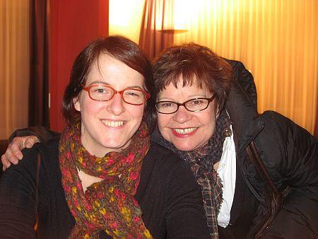 """Ursula Meier (""""Home"""") und Presseagentin Esther Bühlmann"""