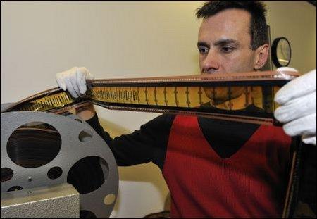 70mm Film ist Schwerarbeit für Operateure
